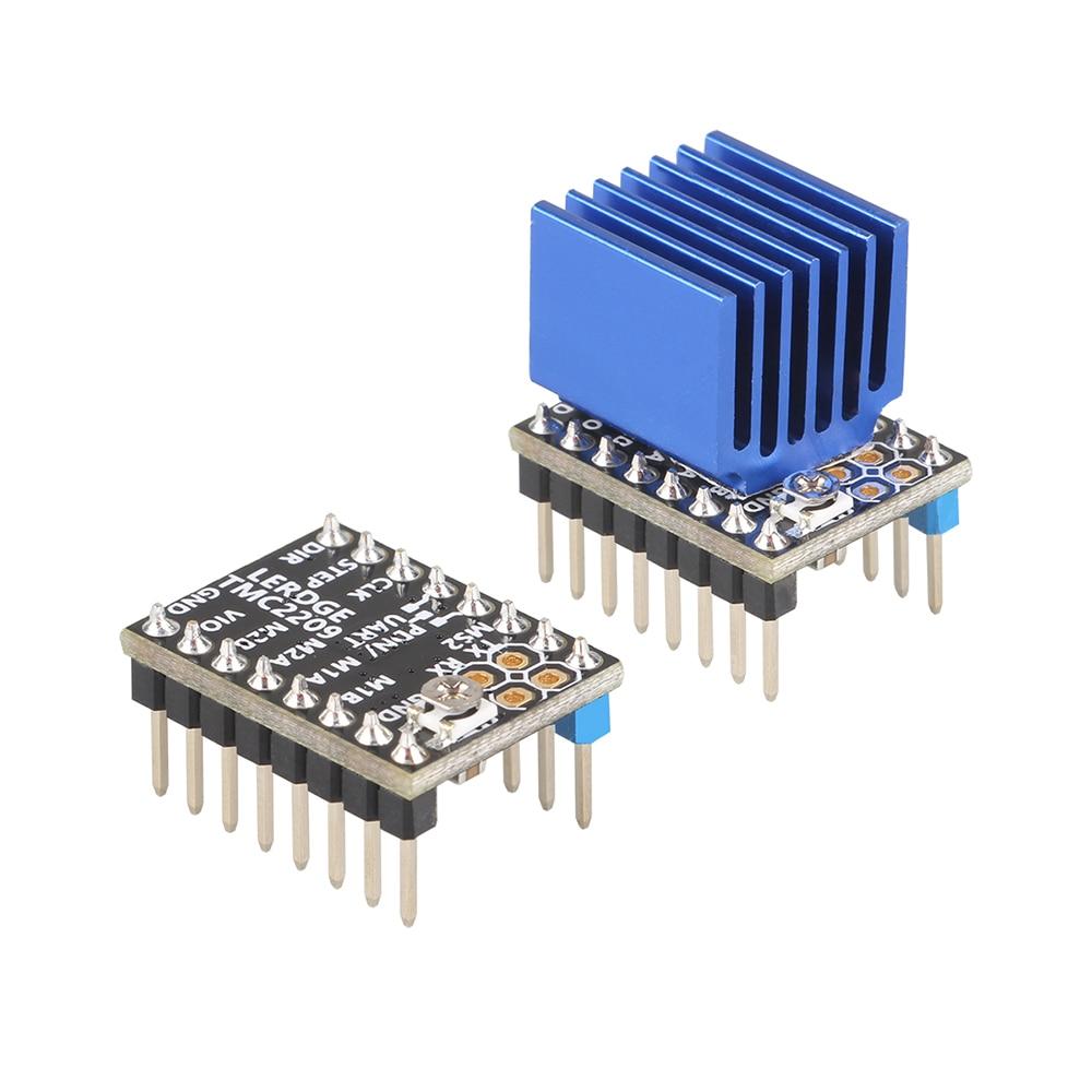 lowest price LERDGE 3D Printer Parts TMC 2209 Stepper Motor Driver 256 UART TMC2208 A4988 LV8729 TMC2130 Stepstick 2 0A ultra-silent Ender3