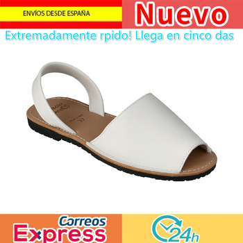 RAIN BOW ISLAND Menorcan Ibicencas Women White 36 Multi-size Women Sandals Women