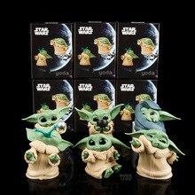 Hand-Made-Toys Decoration Marvel Birthday Baby Yoda Star-Wars 5-Mandalorian Children's-Day-Gift