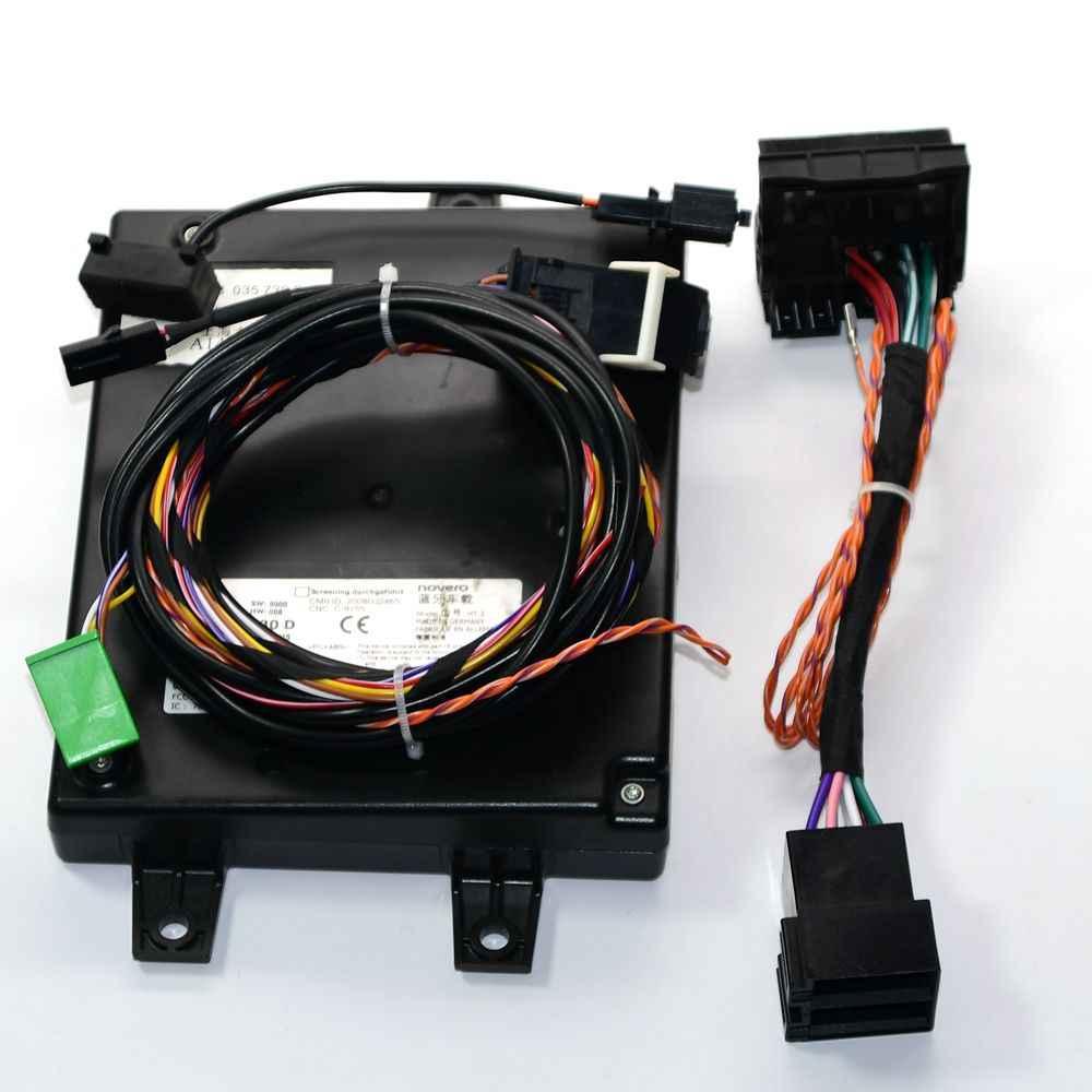 1K8 035 730 D Bluetooth Modul Unit Kontrol Wplay Kabel Pohon/Kabel 9W2 untuk Golf Passat RNS510RCD510