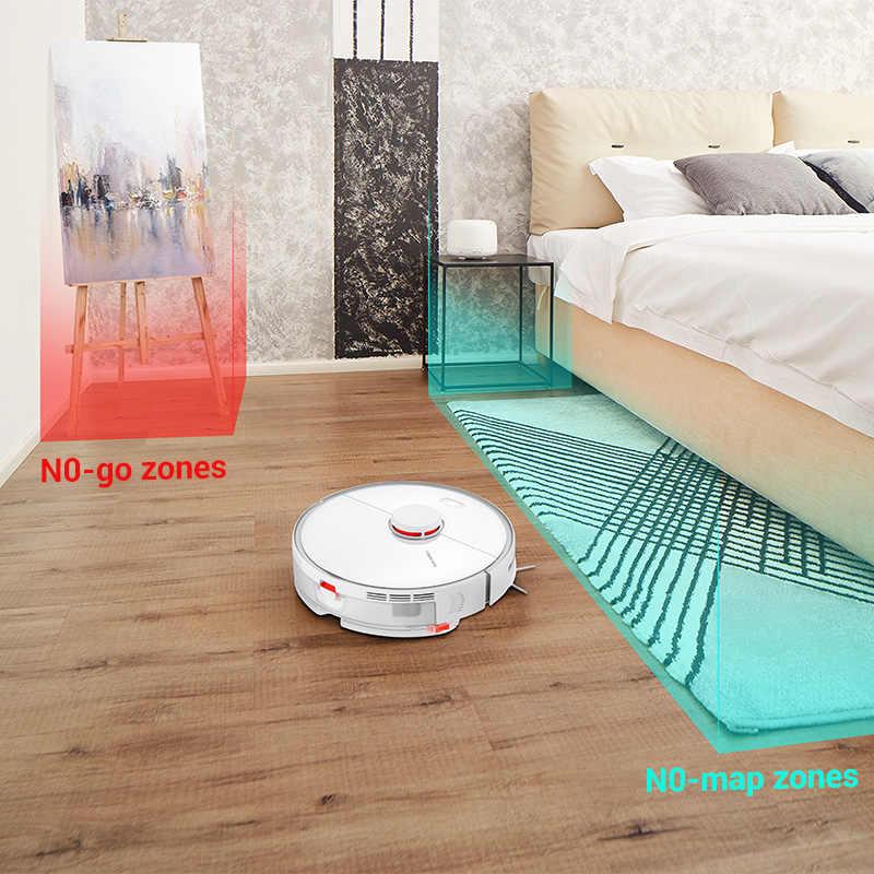 2019 أحدث جهاز آلي لتنظيف الأتربة من Roborock S5 Max تطبيق WIFI للتحكم التلقائي في تنظيف الأتربة وتعقيم الأتربة الذكية