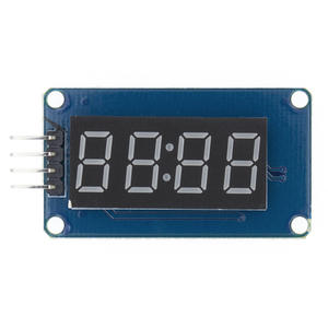 TM1637 4 Bits Digital LED Display Module For arduino 7 Segment 0.36Inch Clock RED Anode Tube Four Serial Driver Board Pack(China)