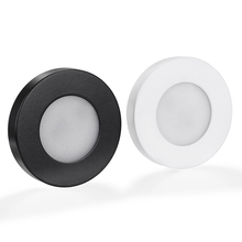 100X Dhl ラウンド表面実装 3 ワット 220 ダウン LED 天井灯スポットライトホーム食器棚リビング寝室の照明