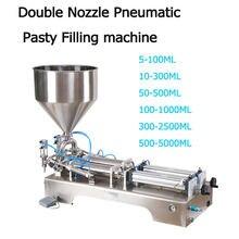 Полуавтоматическая машина для наполнения жидким шампунем 100