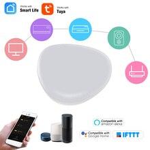 WiFi ИК-пульт дистанционного управления Wi-Fi включенный Инфракрасный Универсальный пульт дистанционного управления для кондиционера ТВ с помощью приложения Tuya Smart Life