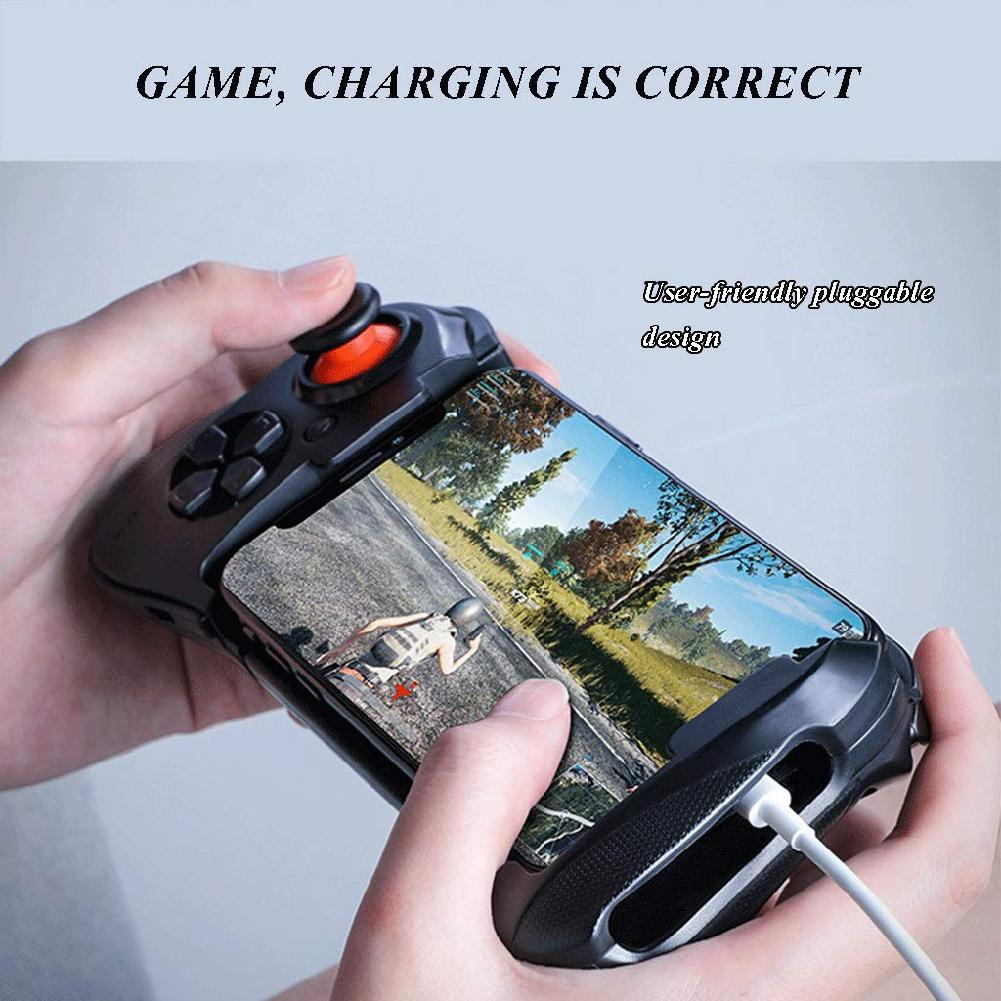 EastVita Wireless Bluetooth Gamepad Controllers for Mobile Phone Gaming Physical Aid Game Controller Physical Peripheral R40