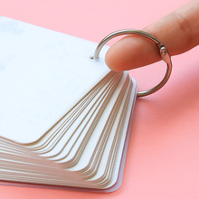 12PCS 32MM card ring book metal curtain key binding loose buckle opening connection