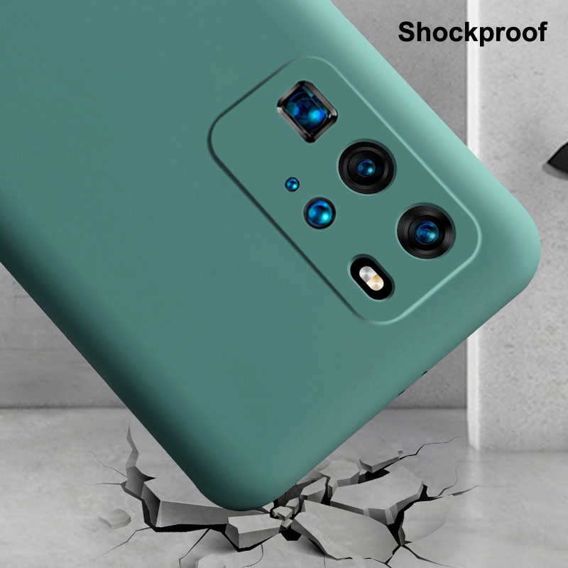 Untuk Samsung Galaxy S20 Ultra S20 Plus FE Catatan 20 Kasus Cair Karet Silikon Kulit Terasa Lembut Penutup Kamera Melindungi shockproof Funda