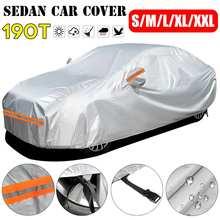Full-Car-Cover Vw/passat Sunshade SUV Universal Waterproof Auto for Winter B6 190T