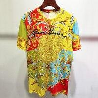 Women Casual T shirt Summer O neck T shirt For Lady Fashion Women Print Short Sleeve Tops
