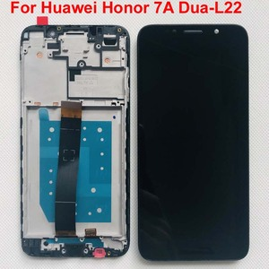 Image 2 - 100% Tested AAA 5.45 Original LCD for Huawei Honor 7A dua l22 DUA LX2 LCD Display Touch Screen Digitizer Assembly with Frame