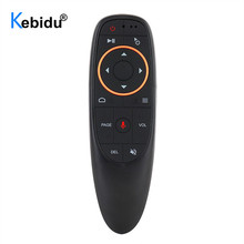 kebidu G10 G10S Air Mouse Voice Control 2.4G USB Receiver G10s with Gyro Sensing Mini Wireless Smart Remote for Android TV BOX