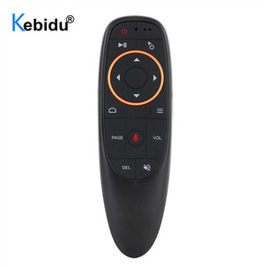 Воздушная мышь kebidu G10 G10S, голосовое управление, 2,4G, USB приемник G10s, с гироскопом, датчик, мини, беспроводной, умный пульт дистанционного управл...