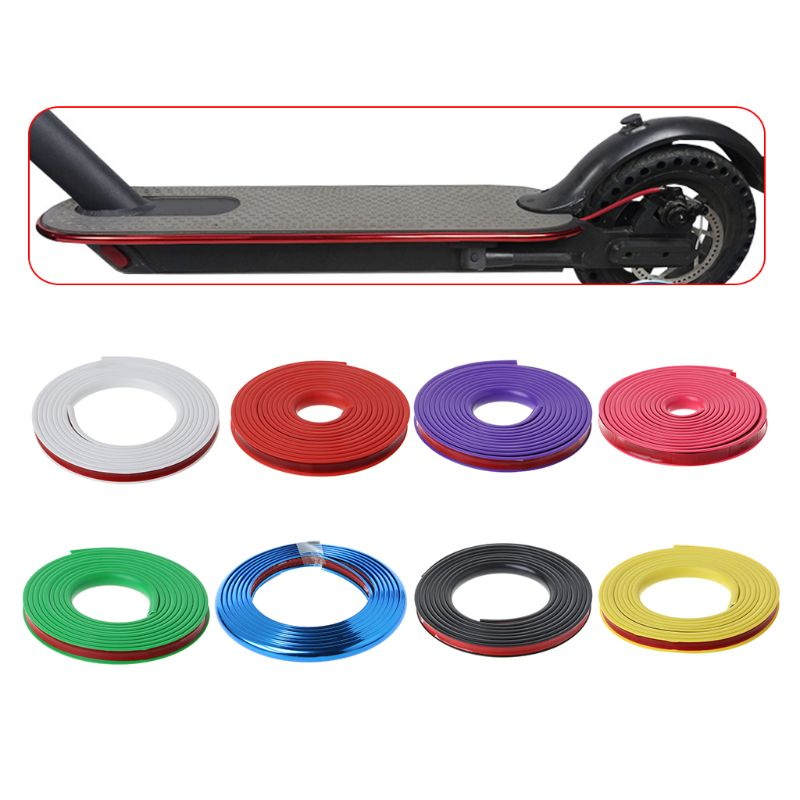 Electric Electric Scooter Anti-collision Protection Strip For Xiaomi Mijia M365 Skateboard Body Bumper Scratchproof Scratch