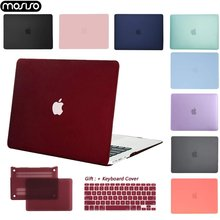 MOSISO Hard Shell Laptop Case Voor MacBook Air Pro Retina11 12 13 15 Laptop Cover voor 2018 Nieuwe Pro 15 13 inch met Touch Bar + Gift(China)