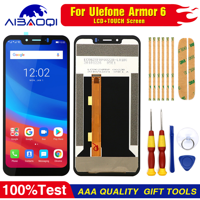 New original For Ulefone Armor 6 6E Replacement Parts + Disassemble Tool+3M Adhesive (LCD is still out of stock)(China)