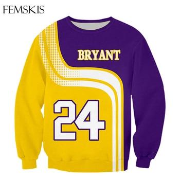 FEMSKIS Fashion Bryant Gigi 3D Print Men Women T-shirt Sweatshirt Hoodies Basketball Stars Harajuku Casual Hip Hop Tops 2