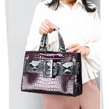 Fashion Snake Alligator Womes Handbags Designer Belts Dec Shoulder Bags Luxury Pu Leather Crossbody Bag Large Totes Lady Purses