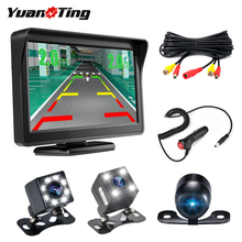 YuanTing 170 Wide Angle HD 8 Auto LED Night Vision Waterproof Rear View Back Up Camera