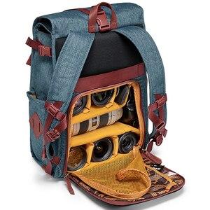 Image 4 - ナショナルジオグラフィック ng AU5350 革カメラバッグバックパック大容量のノートパソコン用キャリーバッグデジタルビデオカメラ旅行バッグ
