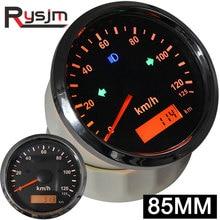 Новинка! GPS скоростной измеритель скорости 85 мм 200 км/ч 120 км/ч цифровой одометр ATV UTV Мотоцикл морской катер водонепроницаемый 12 В/24 В