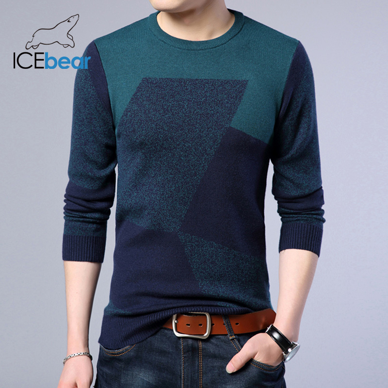 ICEbear 2019 Fashion Men's Sweater Pullover 1718