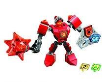 цена на Bela 10585 Nexus Knights Nexus Powers Pouvoirs Building Blocks Action Aaron Lance Clay Bricks Toy
