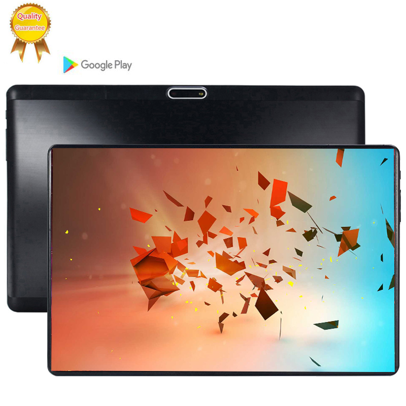 CARBAYTA 2.5D Glass Screen Super 128 Tablet 10.1 Inch Android 9.0 Octa Core 6GB RAM 128GB ROM 128G IPS 5.0MP SIM Card Ips Tablet