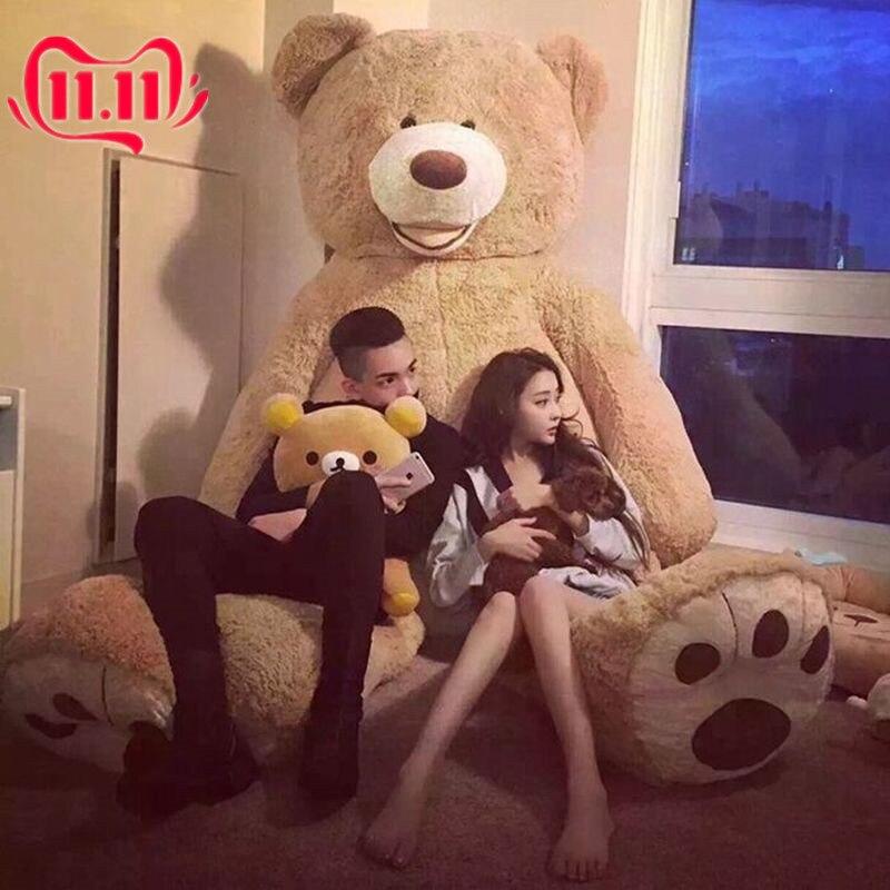 Brand Giant Large Big Teddy Bear Plush Soft Toy Doll US Bears Kids Gift 60-340cm Stuffed Animals Cute Plush Plush Toys
