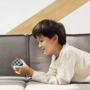 Image 4 - شاومي Mijia الذكية بلوتوث المكعب السحري بوابة الربط 3x3x3 Mi مربع المغناطيسي مكعب لغز العلوم تعليم التعليم لعبة هدية