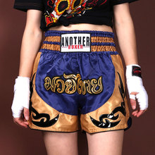 Men's and women's boxing swimsuit, competition Training Shorts, embroidery, MMA, melee, new style