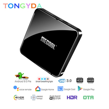 4GB RAM 64GB ROM Mecool Androidtv KM3 TV BOX Android 9 0 Google Certified S905X2 4K