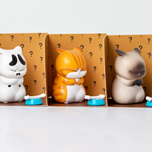 Blind Box Not-Dream Toy Cat And Bell S Doll-Ornaments Worry Does Second-Horse Uncle Static-Hand-Designed