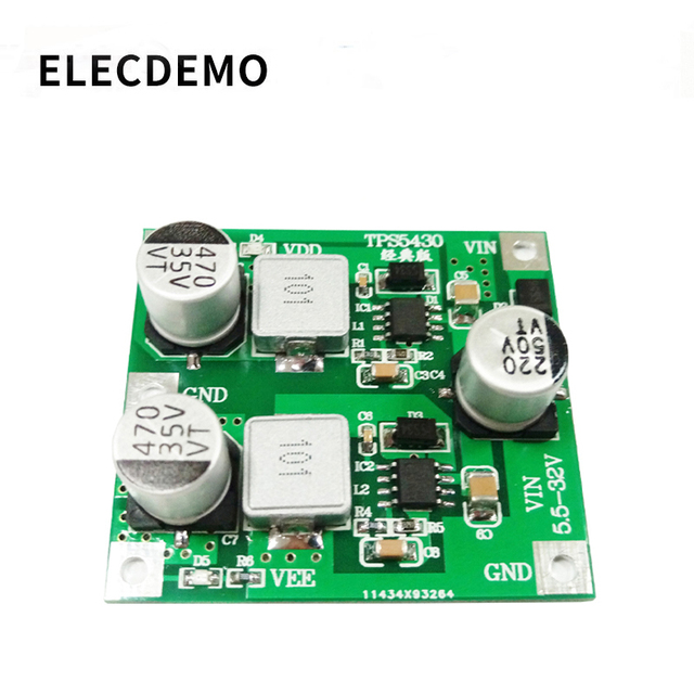 TPS5430 Switching Power Supply ModulePositiveAnd Negative 5V12V15V Regulated Power Supply Low Ripple Classic Surface Mount Board