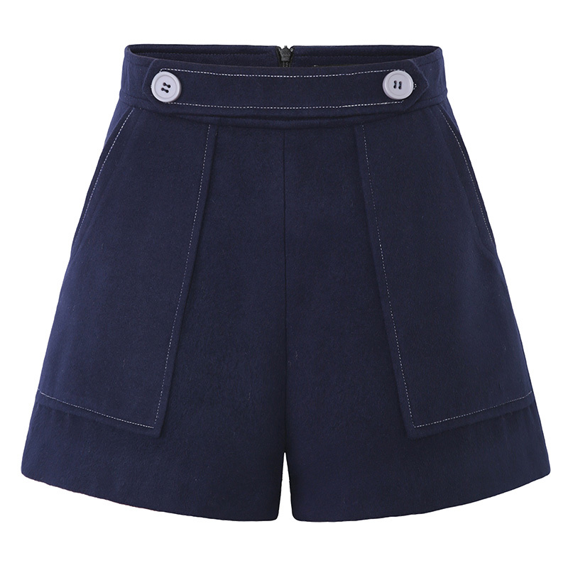 Short Spring Pant For Women Autumn High Waist Solid Soft Casual Female Shorts Plus Size XL-5XL High Quality LX1441             S