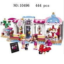 10496 girl friends heart lake city cupcakes cafe enlightenment assembled building blocks toys childrens gifts