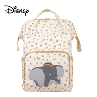 Newest Disney Dumbo Large Capacity Waterproof Diaper Bags Insulation Bottle Feeding Storage Bag Mummy Travel Outdoor Backpack