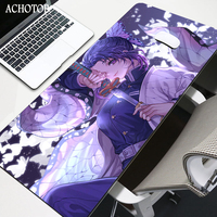 Anime demonio asesino alfombrilla de ratón para juegos alfombra jugador Mat almohadilla para teclado de ordenador de mesa Kamado Nezuko Locrkand manga esteras
