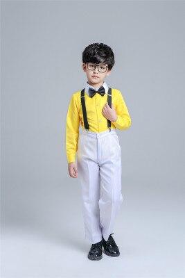Балетный костюм, одежда для хора, платье саронга, пышная балетная юбка принцессы для девочек, костюм для мальчиков, желтый костюм для выступлений - Цвет: 6