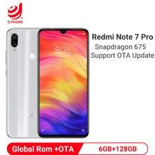 Officiel Global Rom Xiaomi Redmi Note 7 Pro 6GB 128GB Snapdragon 675 Octa Core téléphone portable 48MP double caméra 4000mAh Smartphone