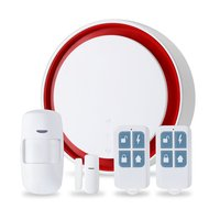 Smart Wifi+GSM Multi function single/Dual network Alarm Set Wireless Anti theft Alarm for Home Security Alarm System Kits|Alarm System Kits|   -