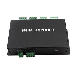 8 portów kontroler wyjściowy HC800 8 kanałów SPI TTL sygnał synchronizator wzmacniacz LED DC12V24V dla kolor marzeń pixel led strip