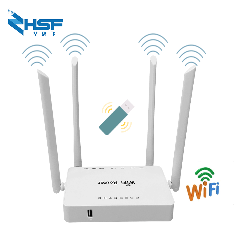 Remote indoor wireless network router MT7620N openVPN 300Mbps WiFi router with USB port and external antenna Keenetic Omni 2