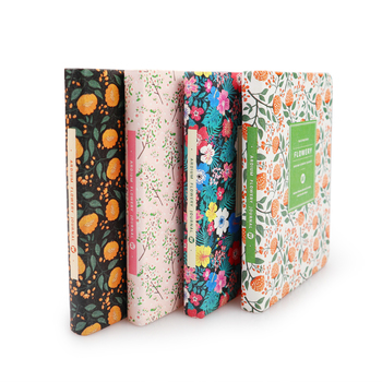 New Arrival Cute PU Leather Floral Flower Schedule Book Diary Weekly Planner Notebook School Office Supplies Kawaii Stationery 1