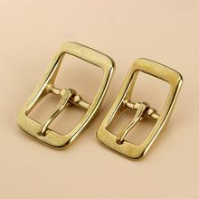 1 x Brass Belt Buckle tri glide single pin Middle Center Bar Belt Buckle for leather craft bag strap horse bridle halter harness 1x 40mm metal belt buckle center bar single pin buckle men s fashion belt buckle fit 37 39mm belt leather craft accessories