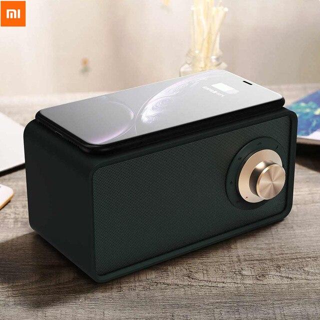Xiaomi 5.0 Qualitell Bluetooth Speaker Draadloze Oplader Witte Ruis Donkergroen Speaker Epp 10W/15W Snel Opladen slaap Speaker