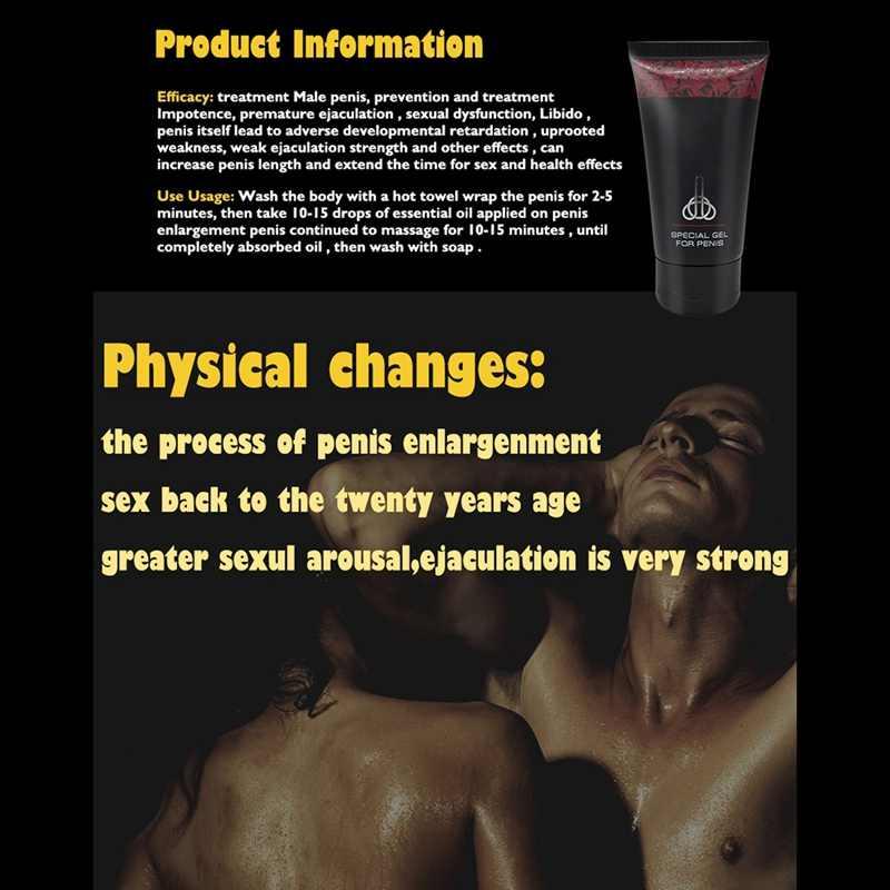Mạnh Mẽ Nam Massage Thư Giãn Nourising Kem Body Gel Tăng Gà Trống Làm Dày Tăng Trưởng Recommen