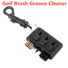 1PC New 3 in 1 Golf Brush Groove Cleaner Pocket Size Plastic Club Kit Tool with Golf