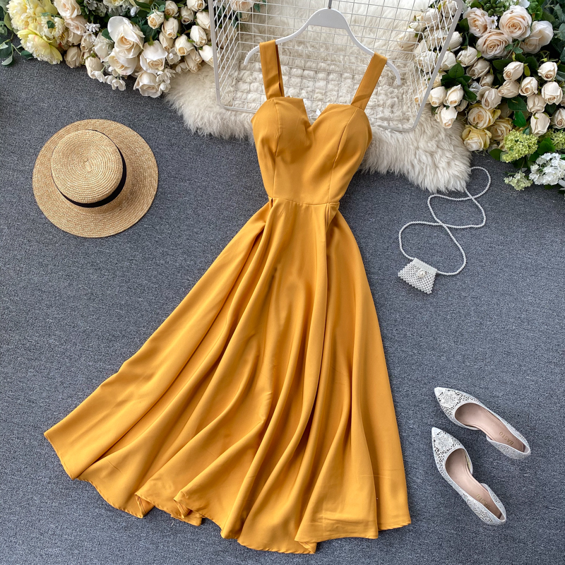 Elegant Vintage Sleeveless V-Neck Bandage Dress 10