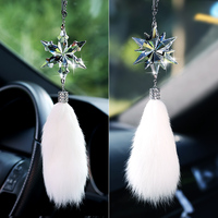 2 Style Cute Car Auto Fashion Pendant Interior Rear View Mirror Ornament Hanging Dangle Charm Car Styling accessories